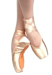russian pointe brava pointe shoes u-cut with draw string
